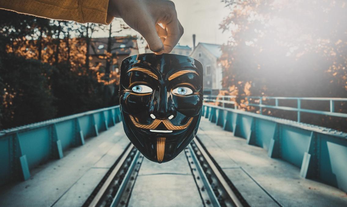 anonymní maska