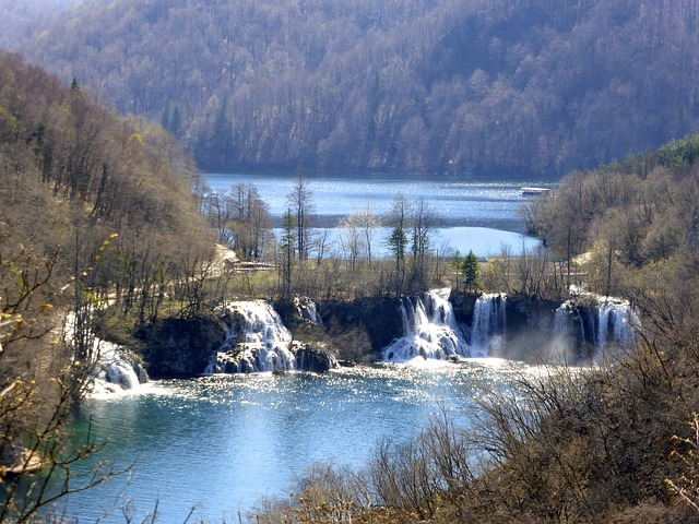 chorvatsko vodopád